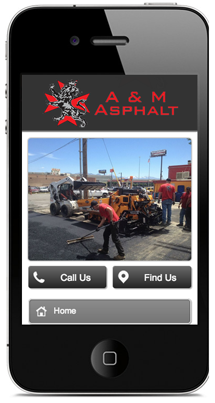 Asphalt Repair Mobile Site
