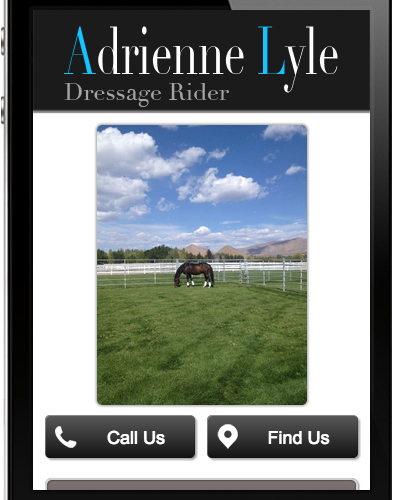 Adrienne Lyle Mobile Site