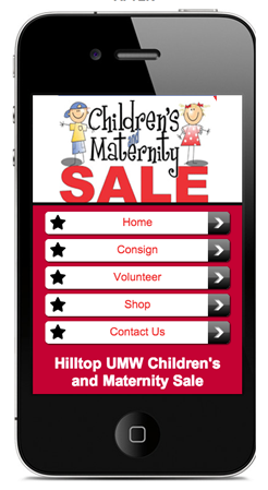 Hilltop Sale Mobile Site