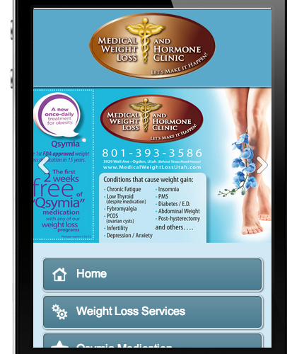Medical Weight Loss Mobile Site