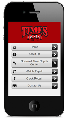 Times Ticking Mobile Site