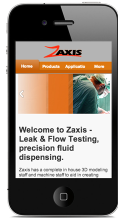 Z-Axis Mobile Site
