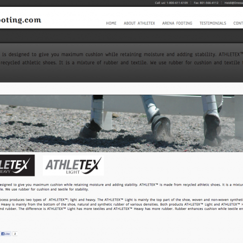 Athletex Footing