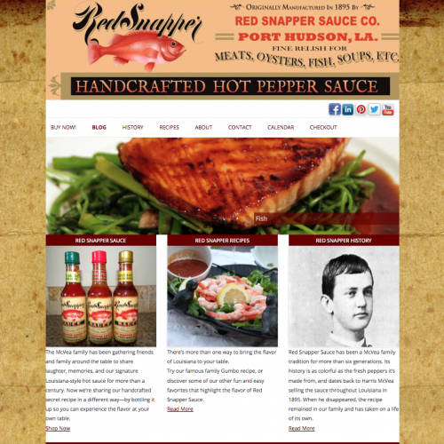 Red Snapper Sauce