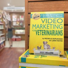 "Michelle Duplechan & Jenn Foster Hit Amazon Best-Seller List With ""Video Marketing for Veterinarians"""
